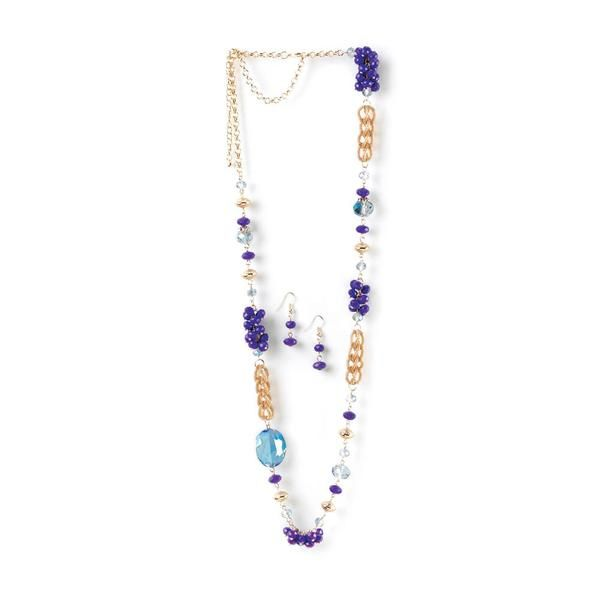 Command attention with this absolutely stunning jewelry set! Buy the Regal Orchid Jewelry Set on Clearance now. #giftspiration #clearance #jewelry #jewelrysets #jewelryset