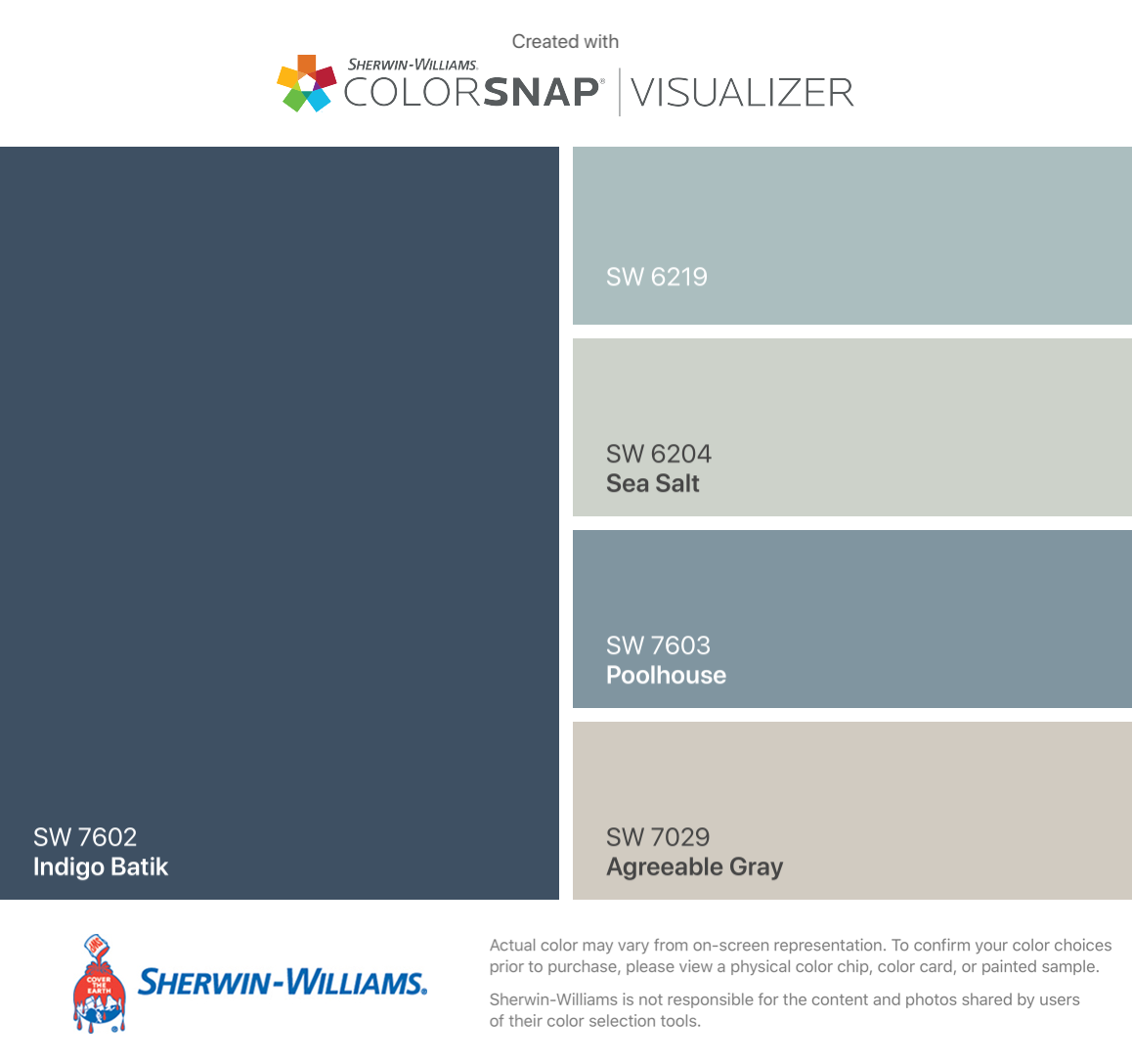 I Found These Colors With Colorsnap Agreeable Gray