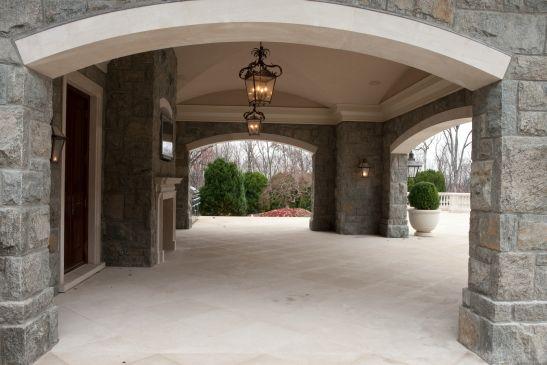 estates at alpine stone mega mansion alpine stone home nj stone mansions legacy stoneworks. Black Bedroom Furniture Sets. Home Design Ideas