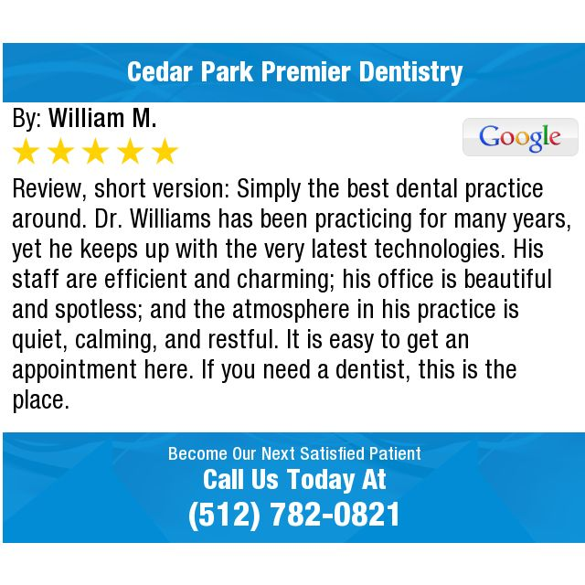 Review, short version: Simply the best dental practice around  Dr