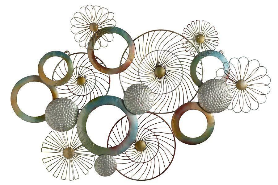 heine home bild online kaufen otto wanddeko metall deko wanddekoration design wandobjekt silber