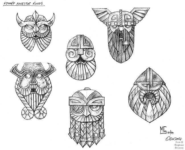 27b Jpg Warhammer Dwarf Concept Artwork Gallery Norse Tattoo Viking Art Viking Tattoos