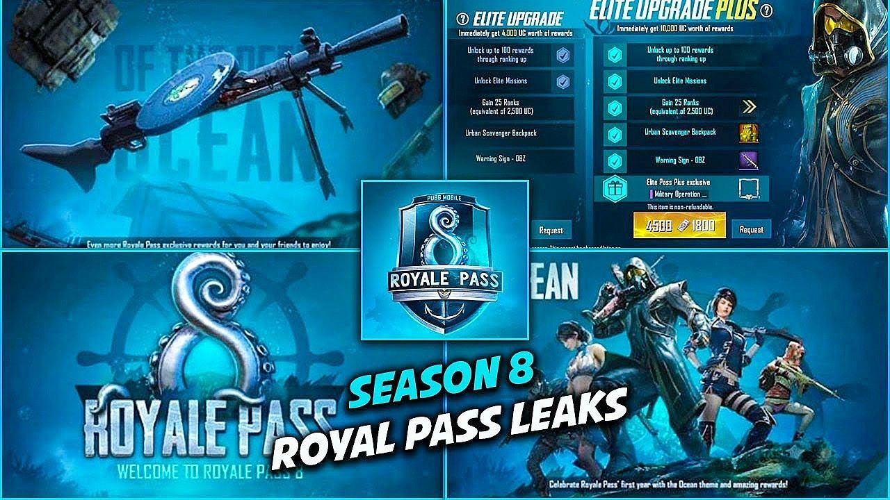 Pubg Mobile Season 8 Update Leaks Royale Pass Features And