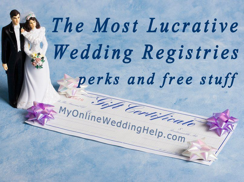 Top 3 Most Lucrative Wedding Registries Wedding Planning Tips Wedding Planning Wedding Planner