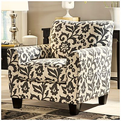 Signature Design By Ashley Levon Charcoal Accent Chair At Big