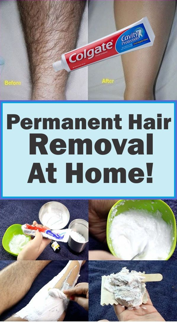 Permanent Hair Removal At Home! - My Healthy Food Time #hairremoval