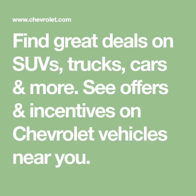 Find Great Deals On Suvs Trucks Cars More See Offers