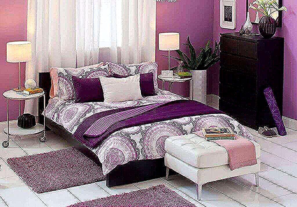 ميكس بين اللون البنفسجي بالدرجات المختلفه اوض نوم مودرن اوض نوم مودرن بعض الخطوات و الافكار بالصور In 2020 Ikea Bedroom Design Ikea Bedroom Sets Ikea Bedroom