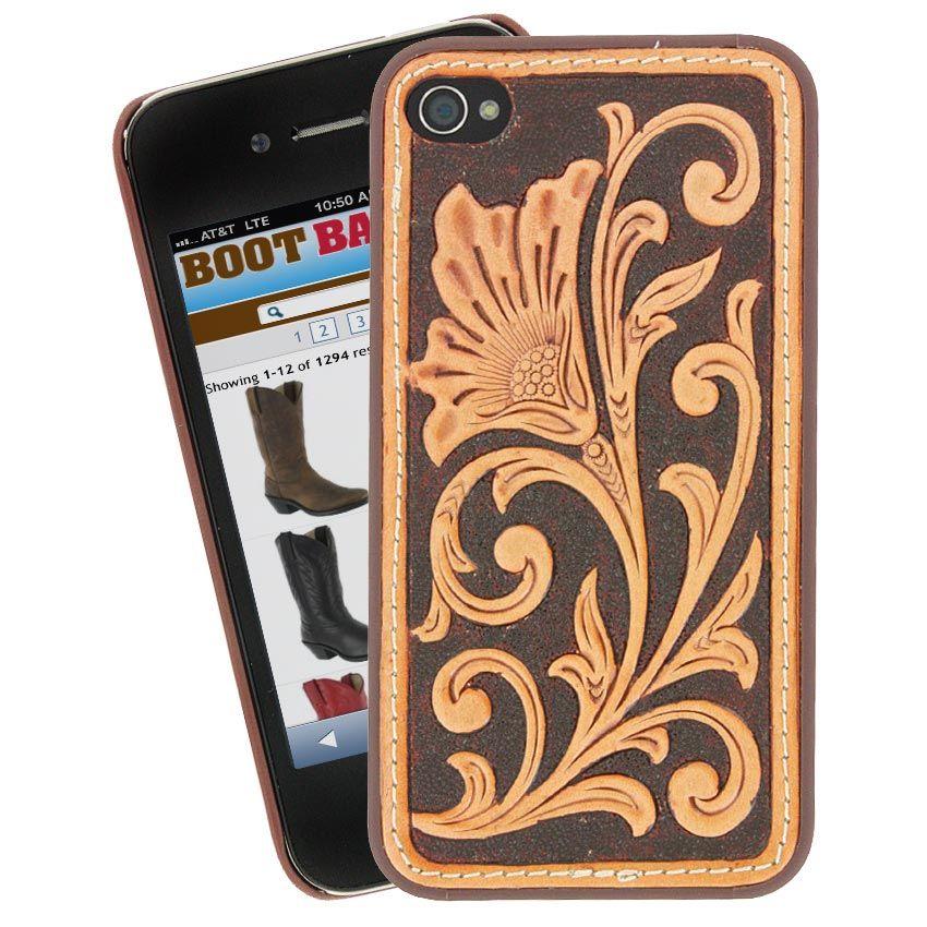 Nocona Belt Co Goods Leather iphone case Iphone leather