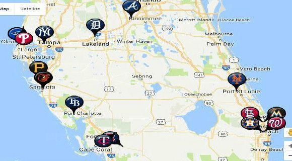 Grapefruit league map - Yahoo Search Results Yahoo Image Search ...
