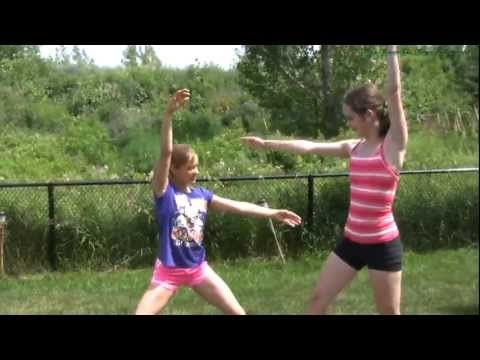 double cartwheel tutorial  2 person cartwheels  2 person
