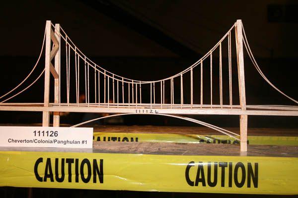 111126 Kg 3rd Most Attractive Physics Balsa Bridge