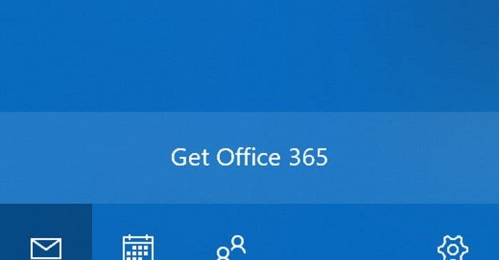 Windows 10 Mail App Users are Reporting InApp Office 365