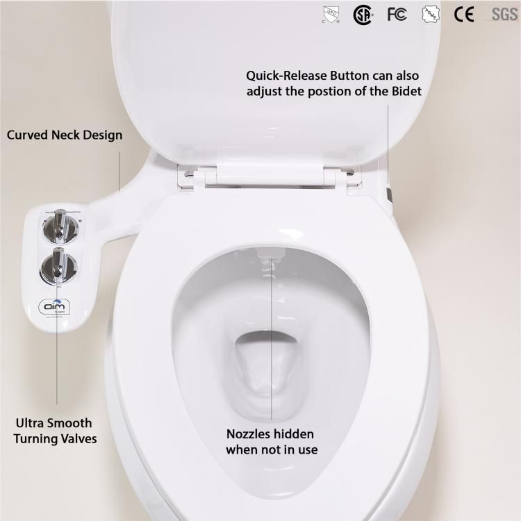 Toilet Bidet Attachment And Toilet Night Light Combo With Images