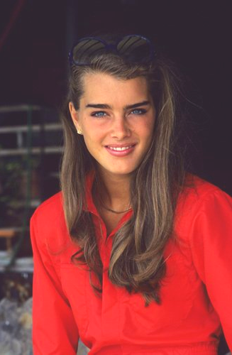 Photo of I literally thought brooke shields was the most beautiful person on earth when I…