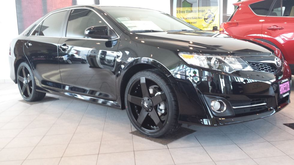 camry se 2014 with rims 2014 Camry Cars Pinterest
