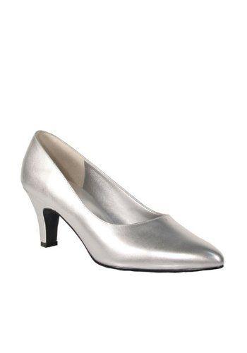 9f187f7c1bd 3 Inch Block Heel Classic Pump. Wide Shoe http   www.amazon