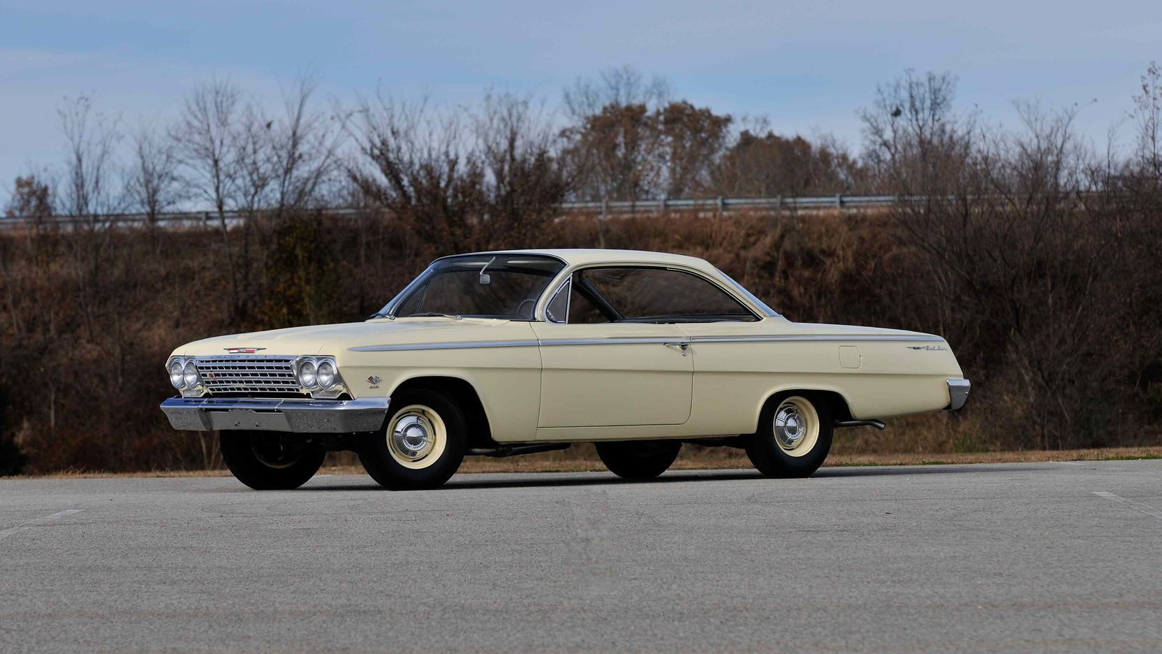 1962 Chevrolet Bel Air Bubble Top presented as Lot F233 at