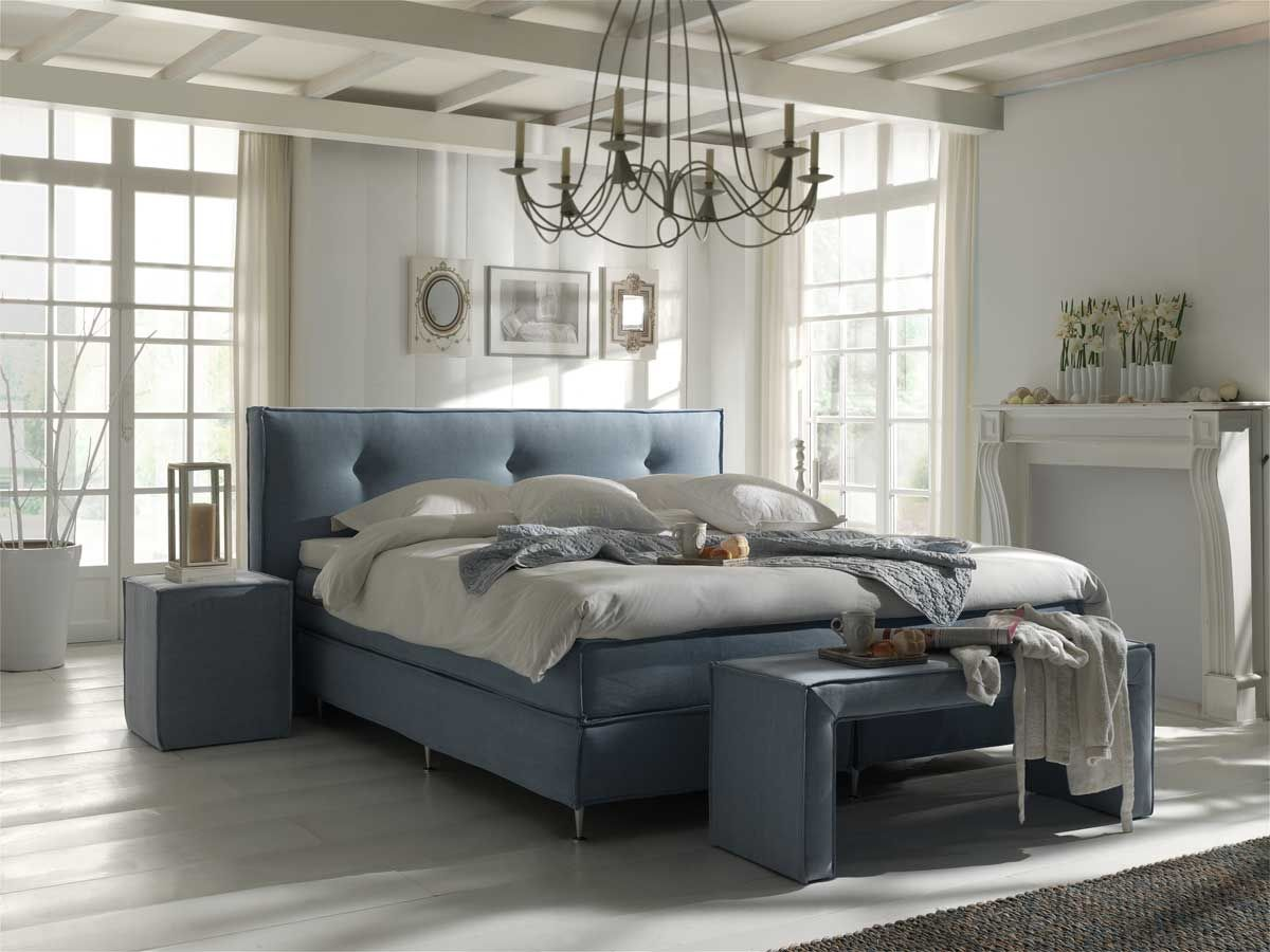Boxspring marbella vintage luxe boxspring in new style vintage