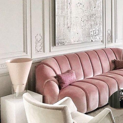 LAPSE – TheyAllHateUs | design | Pinterest | Pink velvet couch ...