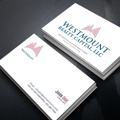 Real estate company needs a catchy yet simple business card design real estate company needs a catchy yet simple business card design design by qurratul colourmoves