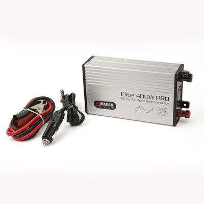 Wagan Elite Pro Pure Sine Wave 400W Continuous / 800W Peak Power Inverter