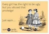 Ugly..