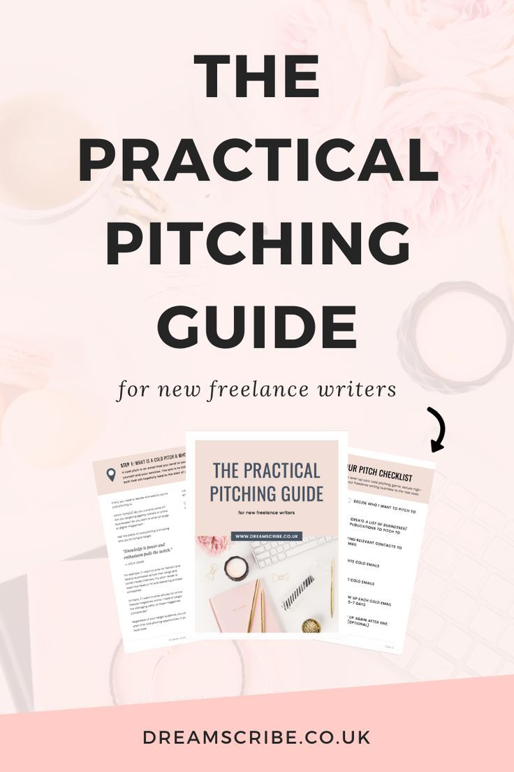 The Practical Pitching Guide for New Freelance Writers