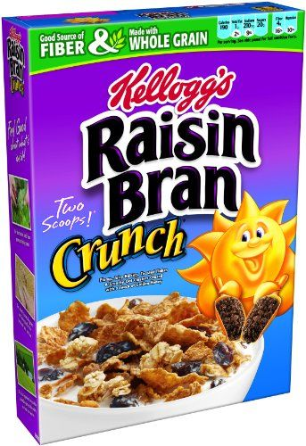 Raisin Bran Crunch Cereal 18 2 Ounce Boxes Pack Of 3 Raisin Bran Crunch Crunch Cereal Cereal