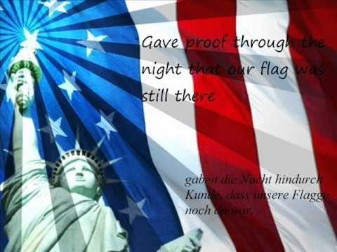 übersetzung Amerikanische Nationalhymne