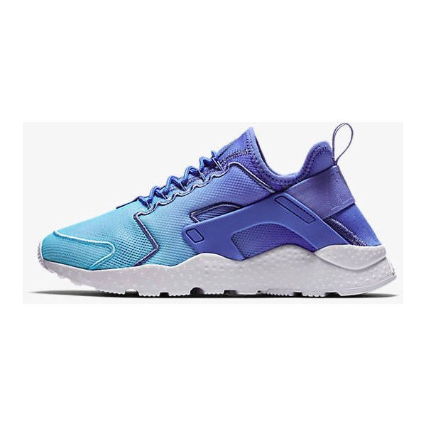 ca50c4eeb3de2 Nike Air Huarache Ultra Breathe polar/still blue/white/polar... ($220) ❤  liked on Polyvore featuring shoes, sneakers, silver, sneakers & athletic  shoes, ...