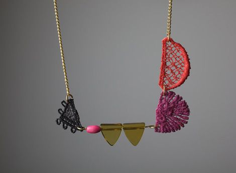 a party around your neck.