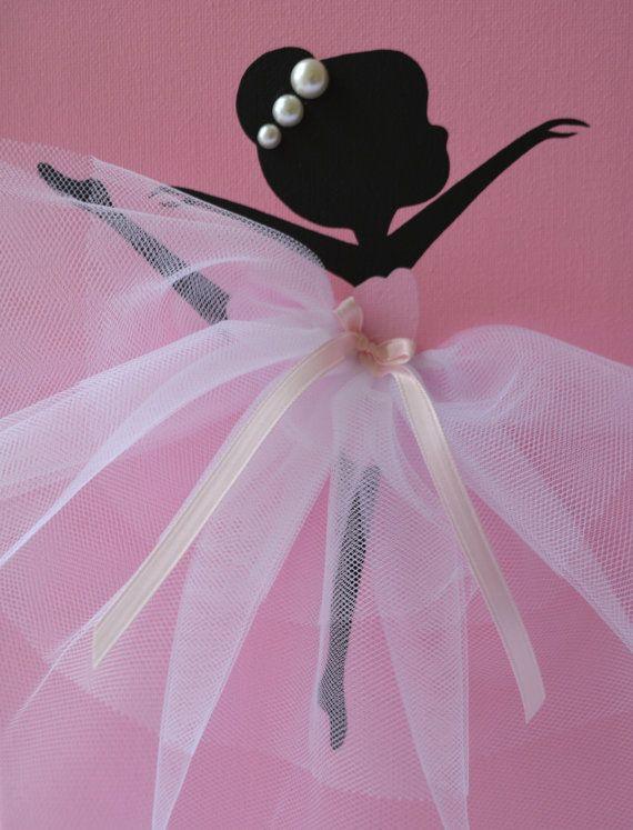 Three Dancing Ballerinas in Pink Nursery décor for girls - ballerina küchen preise