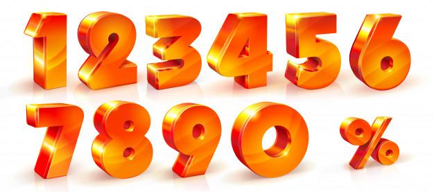 تحويل الارقام الى كتابة تفقيط الأرقام ترجمة الأرقام الى حروف Zina Blog Numbers Font Pet Logo Design Percent Sign