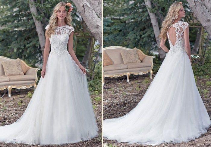 Vestidos de noiva com renda 2017: o tecido mais usado pelas noivas