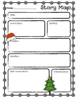 free Christmas printable map | Free Christmas Story Map ...