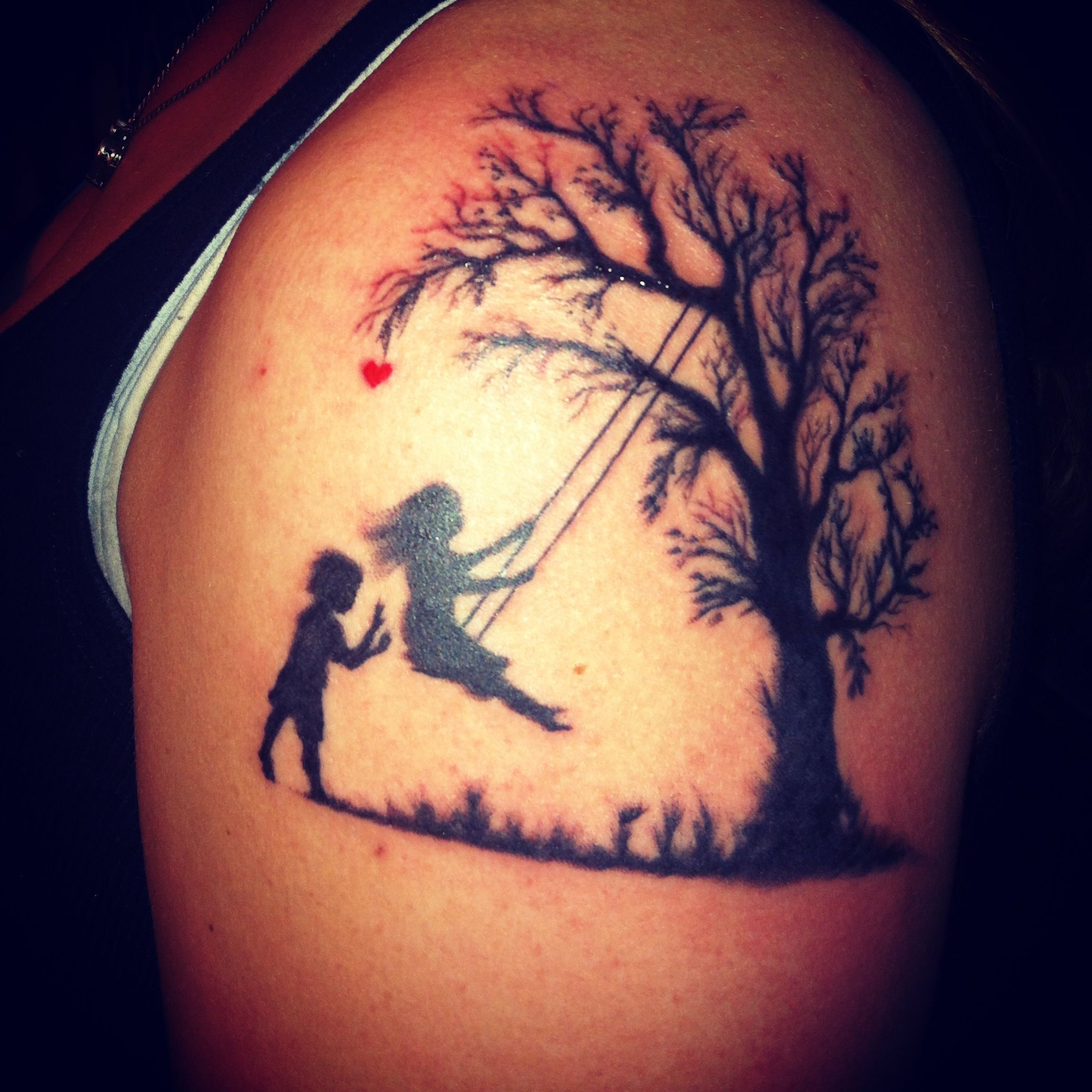My Newest Tattoo Represents My Son And Daughter I Love It So