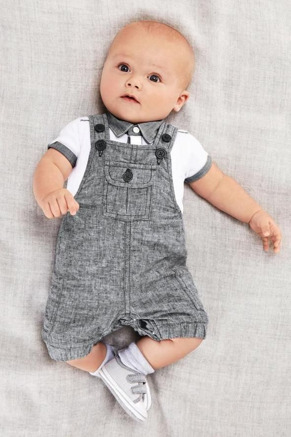 2018 new arrival baby boy clothing set gentleman infant clothes set for boys high quality cotton T-shirt + Overalls baby suit
