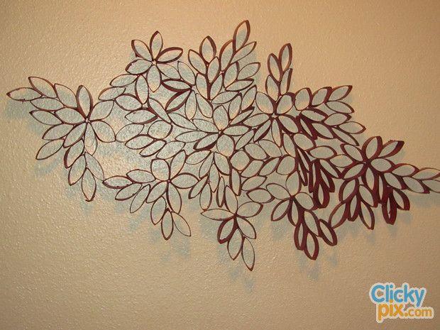 Decoraci n con rollos de papel higi nico manualidades - Decoracion con rollos de papel higienico ...