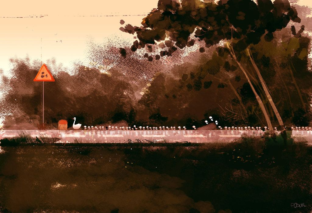 La file Indienne. by PascalCampion on DeviantArt