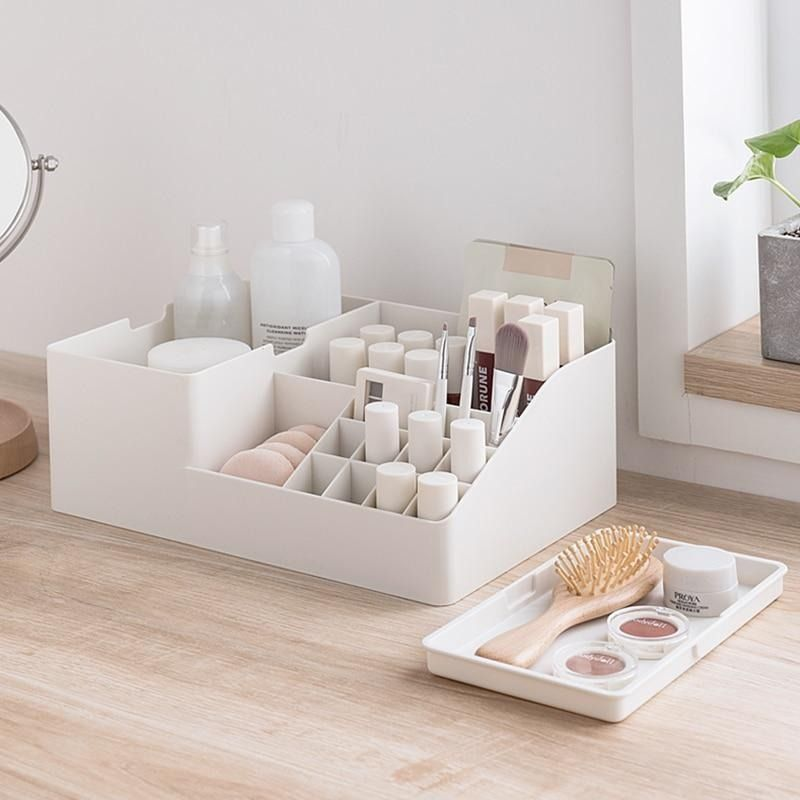 Photo of Multi-Grid Simple Makeup Organizer