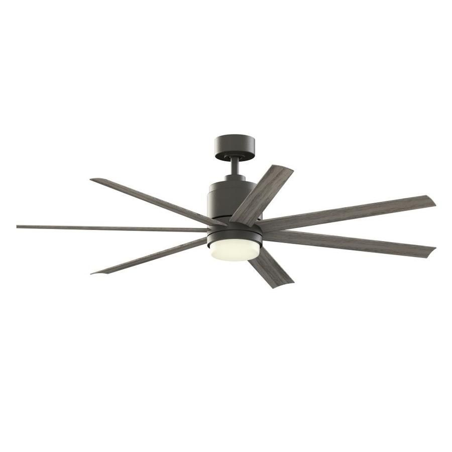 Home Decorators Collection Royalty 120 In Led Outdoor Brushed Nickel Ceiling Fan With Remote Control Am590 Bn The Home Depot