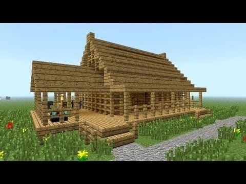 minecraft tutorial: easy house tutorial #4 | game stuff | pinterest