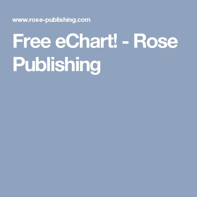 Free eChart! - Rose Publishing