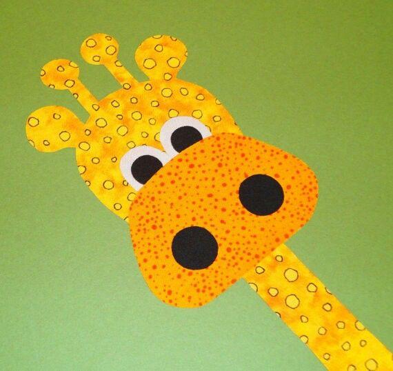 Giraffe Applique | applique | Pinterest