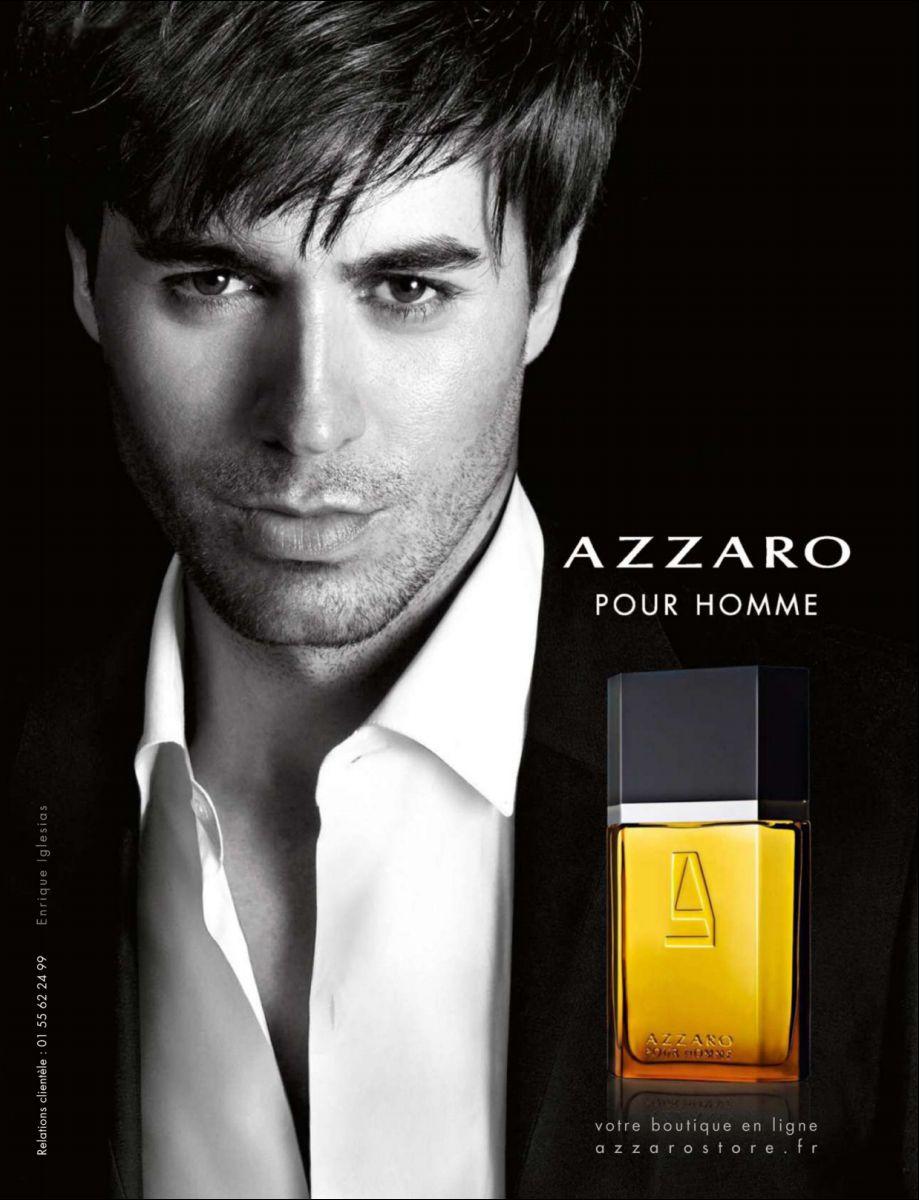 Enrique Iglesias for Azzaro