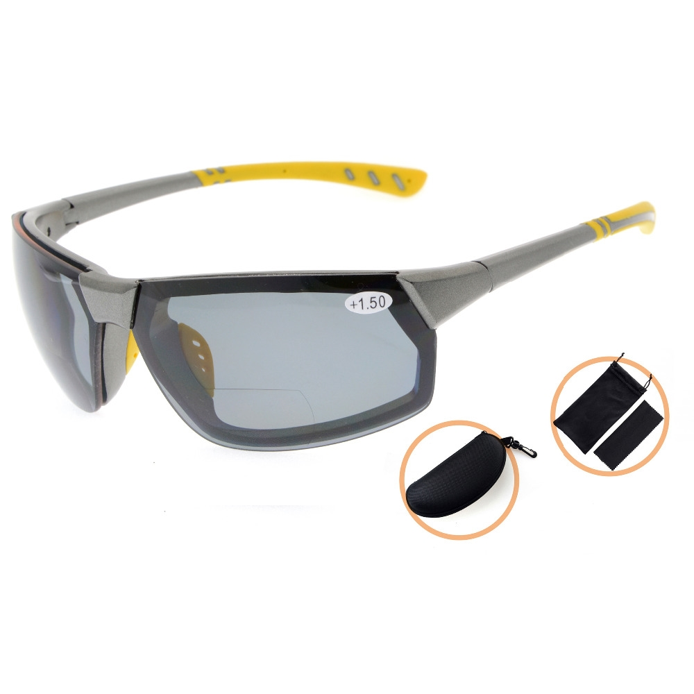 bf99d0ed5d 39.99  Watch now - TH6157PGSG Eyekepper TR90 Unbreakable Sports  Polycarbonate Polarized Bifocal Sunglasses  buymethat
