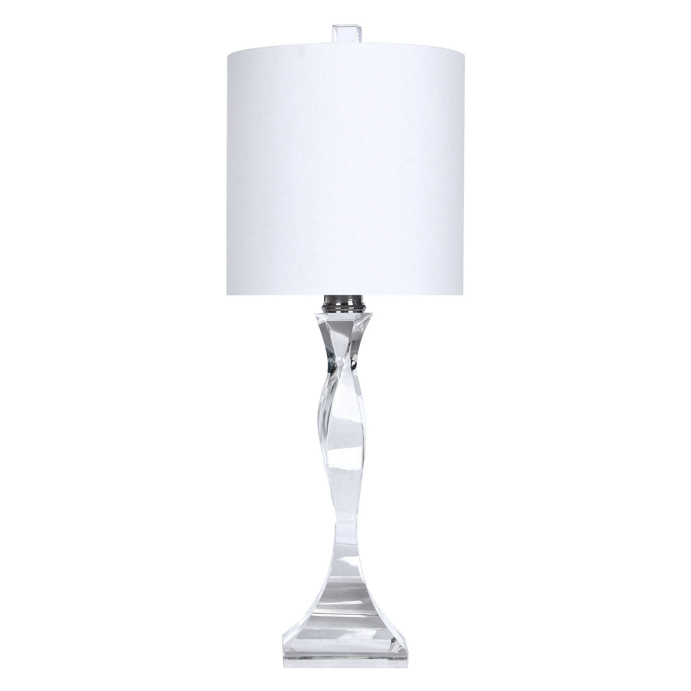 Grandview gallery genuine crystal 24 table lamp bathroom grandview gallery genuine crystal 24 table lamp geotapseo Choice Image