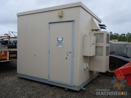 Portable Electrical Site Shed - http://www.machines4u.com ...