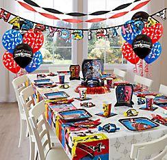 POWER RANGERS NINJA STEEL birthday party METALLIC SASHES 8pcs Favors
